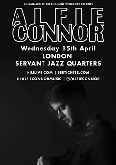 Alfie Connor UK Tour 2015