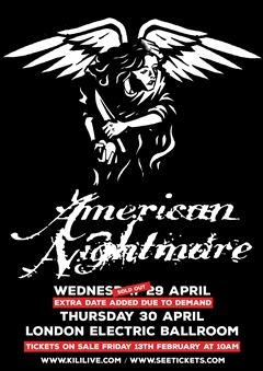 American Nightmare UK Tour 2015