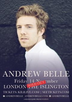 Andrew Belle UK Tour 2014