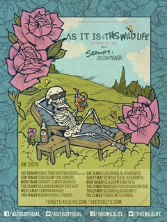 As It Is + This Wild Life co-headline UK Tour 2015