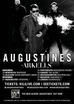 Augustines UK Tour 2014