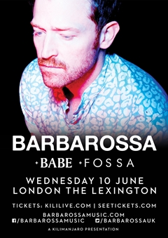 Barbarossa UK Tour 2015