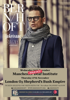 Bernhoft UK Tour 2014