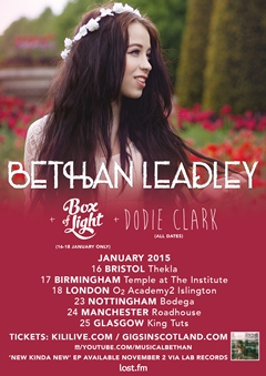 Bethan Leadley UK Tour 2015