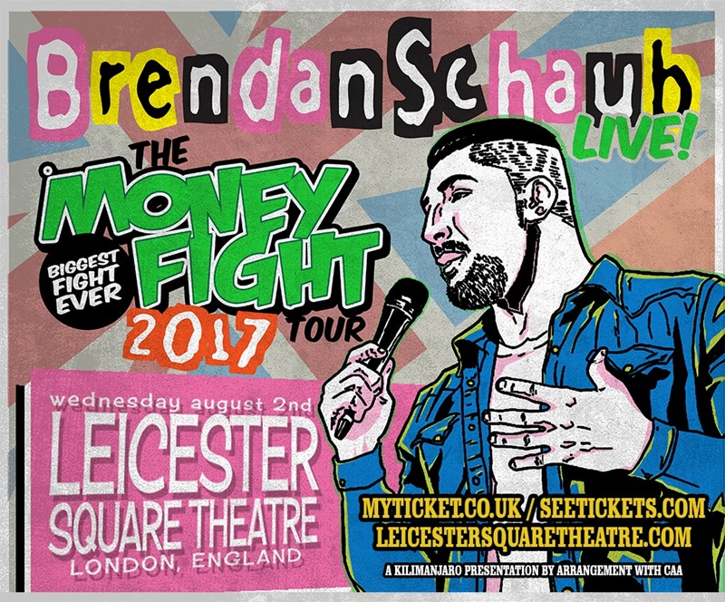 Brendan Schaub UK London 2017 show