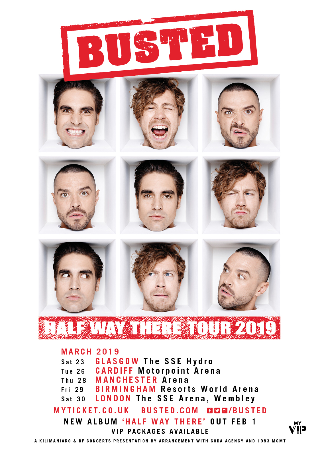 Busted March 2019