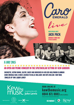 Caro Emerald with supports 2015