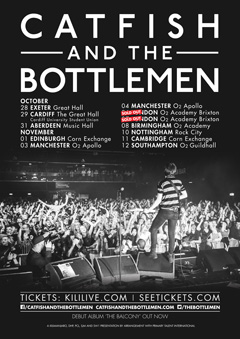 Catfish and the Bottlemen new Tour 2015