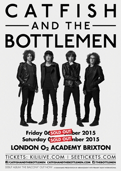 Catfish and the Bottlemen UK Tour 2015