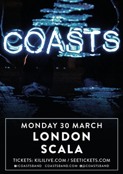 Coasts UK Tour 2015
