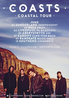 Coasts Coastal Tour UK Tour 2015