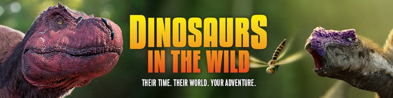 Dinosaurs In The Wild UK Tour 2017