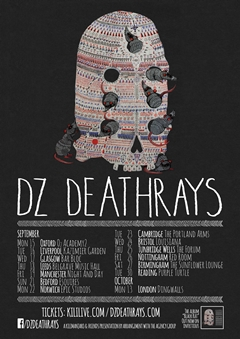 DZ Deathrays UK Tour 2014