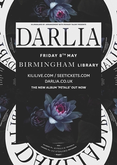Darlia UK Tour 2015 Birmingham