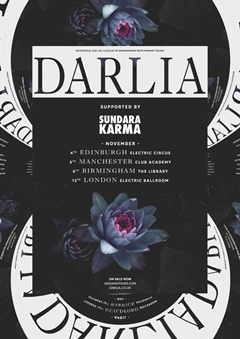 Darlia UK Tour 2015