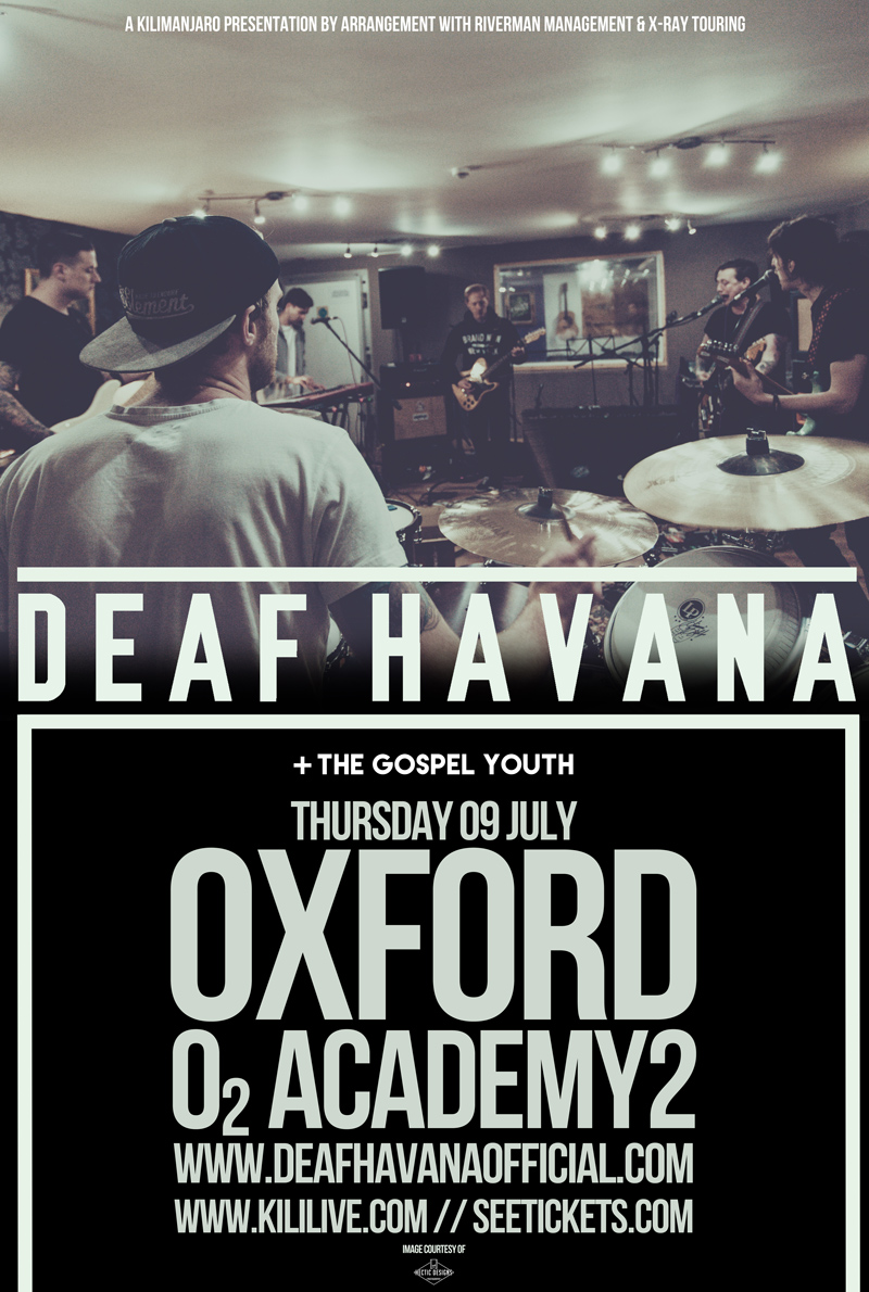 Deaf Havana Oxford 2015