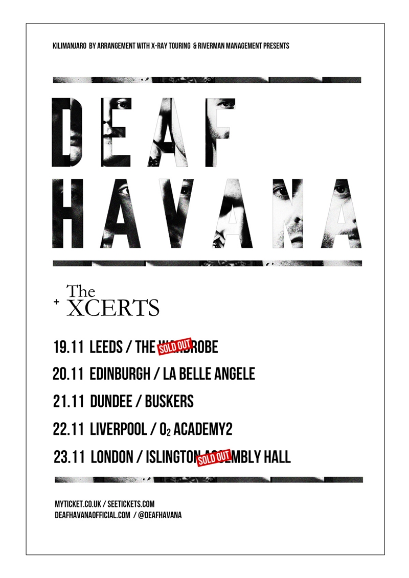 Deaf Havana UK Tour 2015