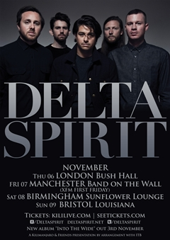 Delta Spirit UK Tour 2014