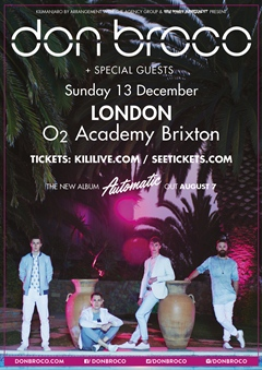 Don Broco UK Tour 2015 London
