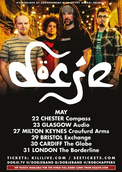 Dorje UK Tour 2015