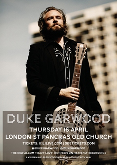 Duke Garwood UK Tour 2015