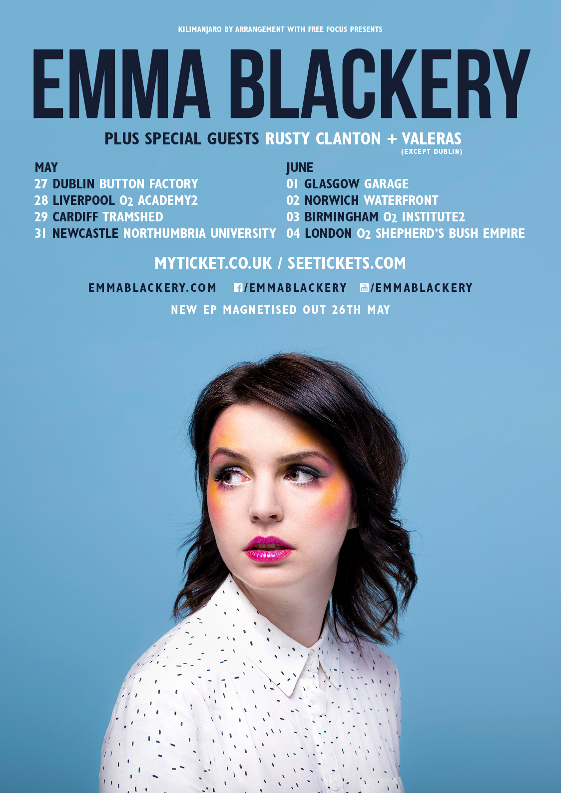 Emma Blackery Tour 2017