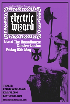 Electric Wizard UK Tour 2015