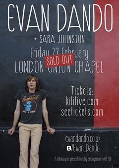 Evan Dando UK Tour 2015