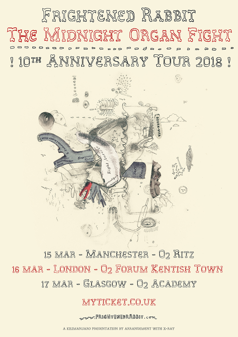 Frightened Rabbit Tour
