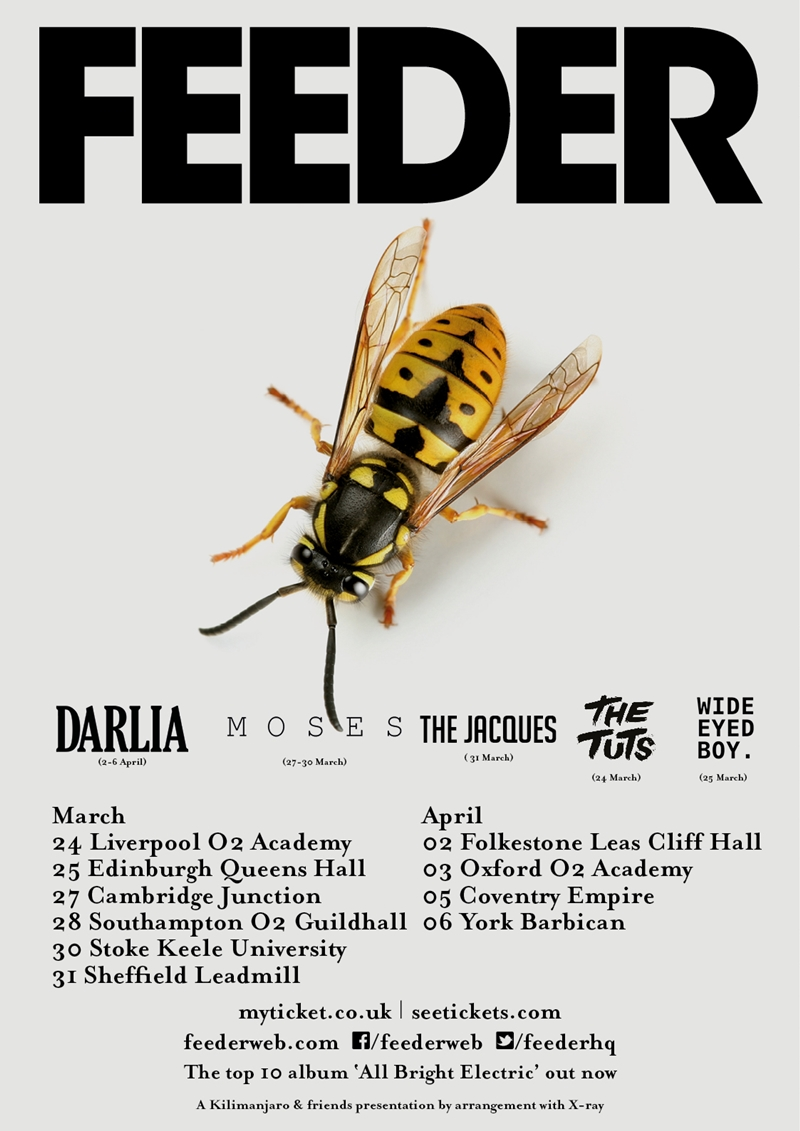 Feeder UK Tour 2017