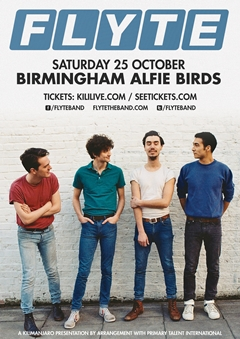 Flyte UK Tour 2014