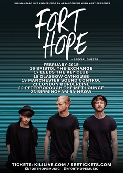 Fort Hope UK Tour 2015