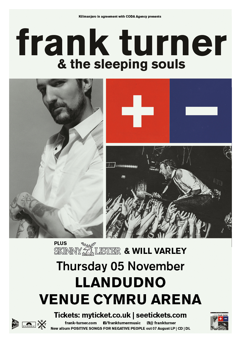 Frank Turner & The Sleeping Souls UK 2015 Wales