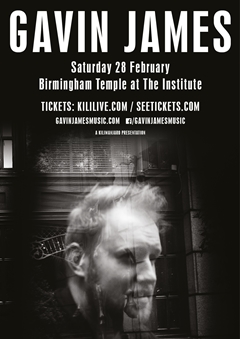 Gavin James UK Tour 2015