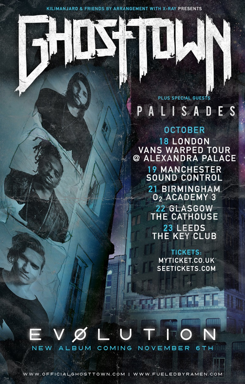 Ghost Town UK Tour 2015