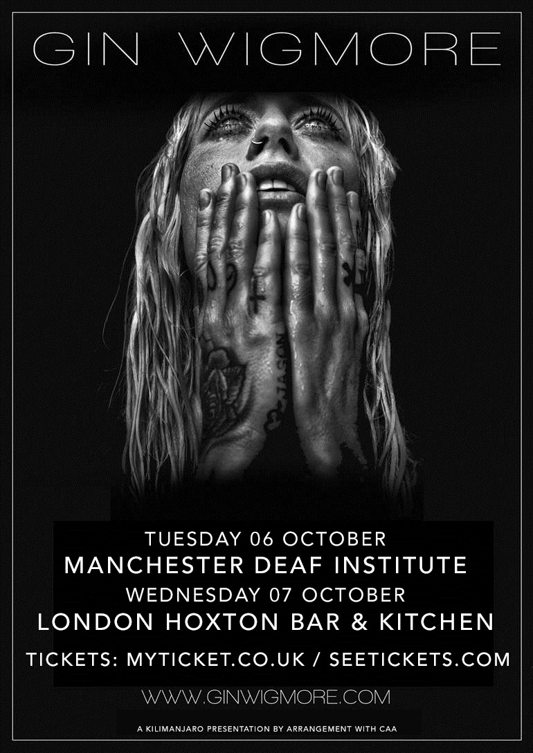 Gin Wigmore UK Tour 2015