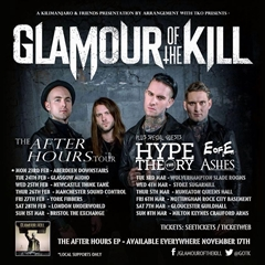Glamour Of The Kill UK Tour 2015