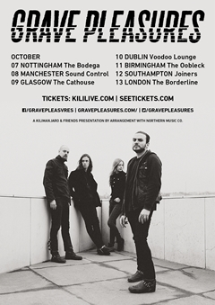 Grave Pleasures UK Tour 2015