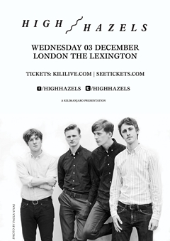 High Hazels UK Tour 2014