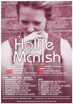 Hollie McNish UK Tour 2015