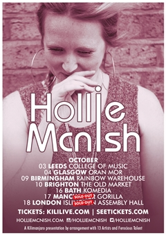 Hollie McNish UK Tour 2014