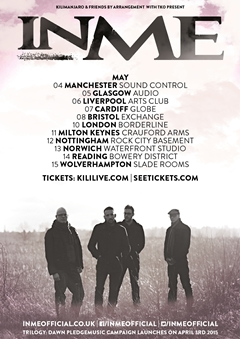 InMe UK Tour 2015