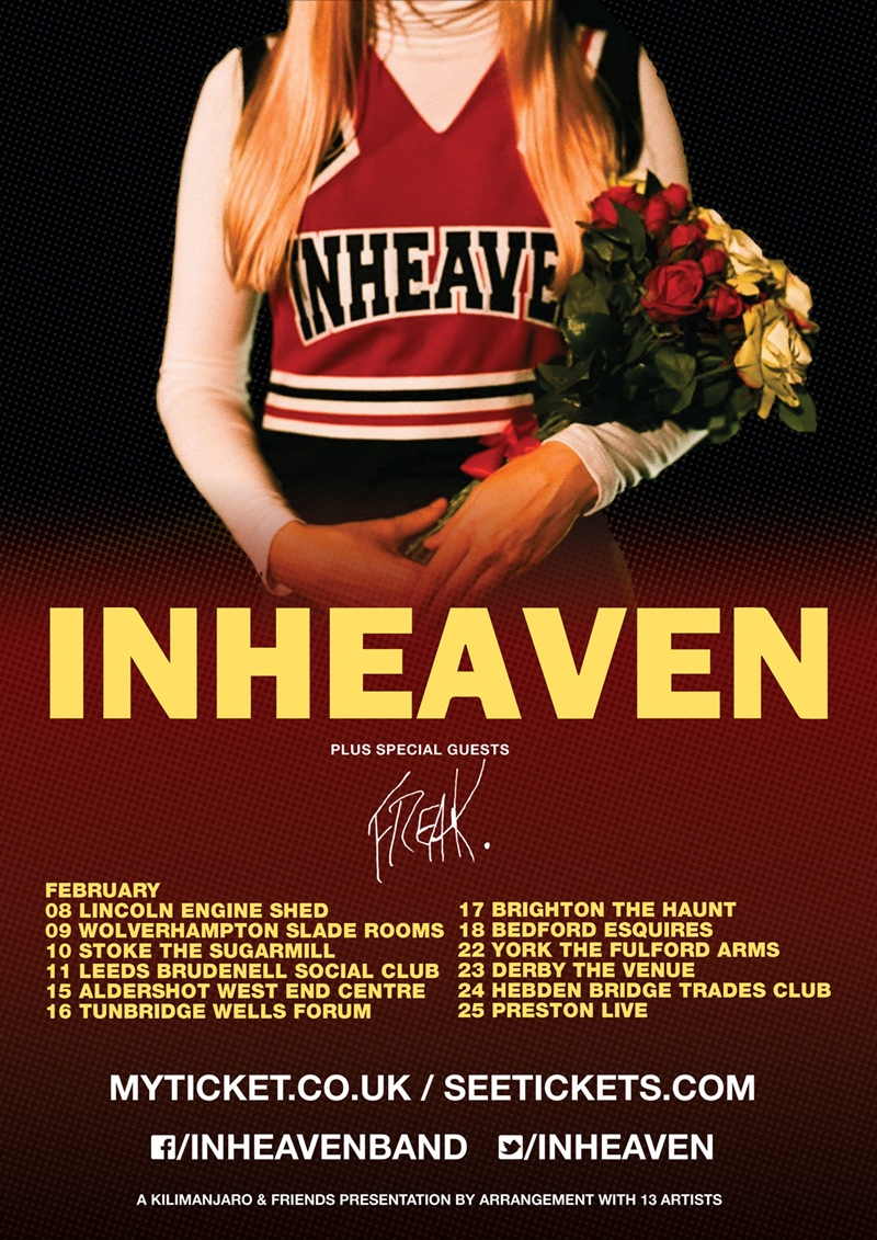 Inheaven UK Tour 2017