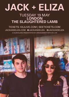 Jack + Eliza UK Tour 2015