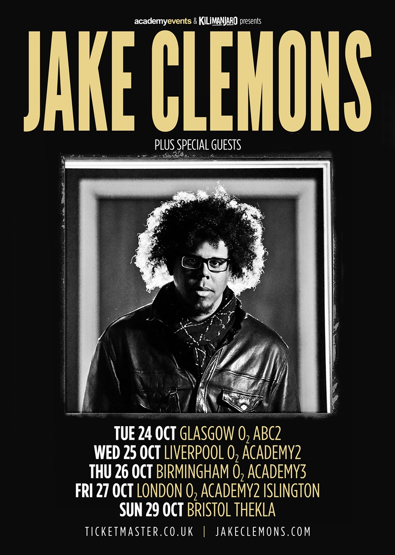 Jake Clemons UK Tour 2017