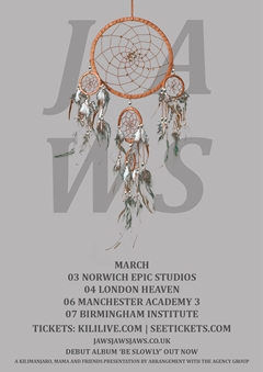 Jaws UK Tour 2015