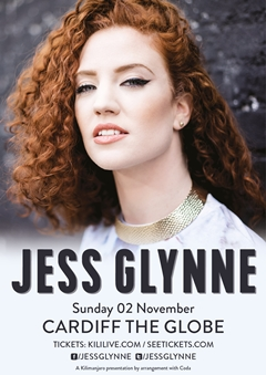 Jess Glynne UK Tour 2014