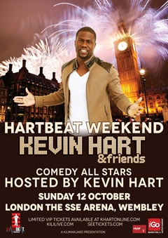 Kevin Hart UK Tour 2014