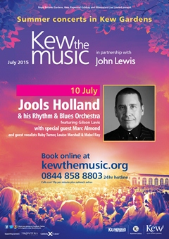 Jools Holland and His Rhythm & Blues Orchestra performing at Kew The Music London UK Festival 2015