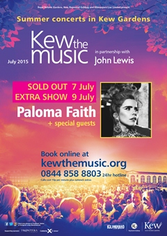 Paloma Faith performing at Kew the Music UK London Festival 2015